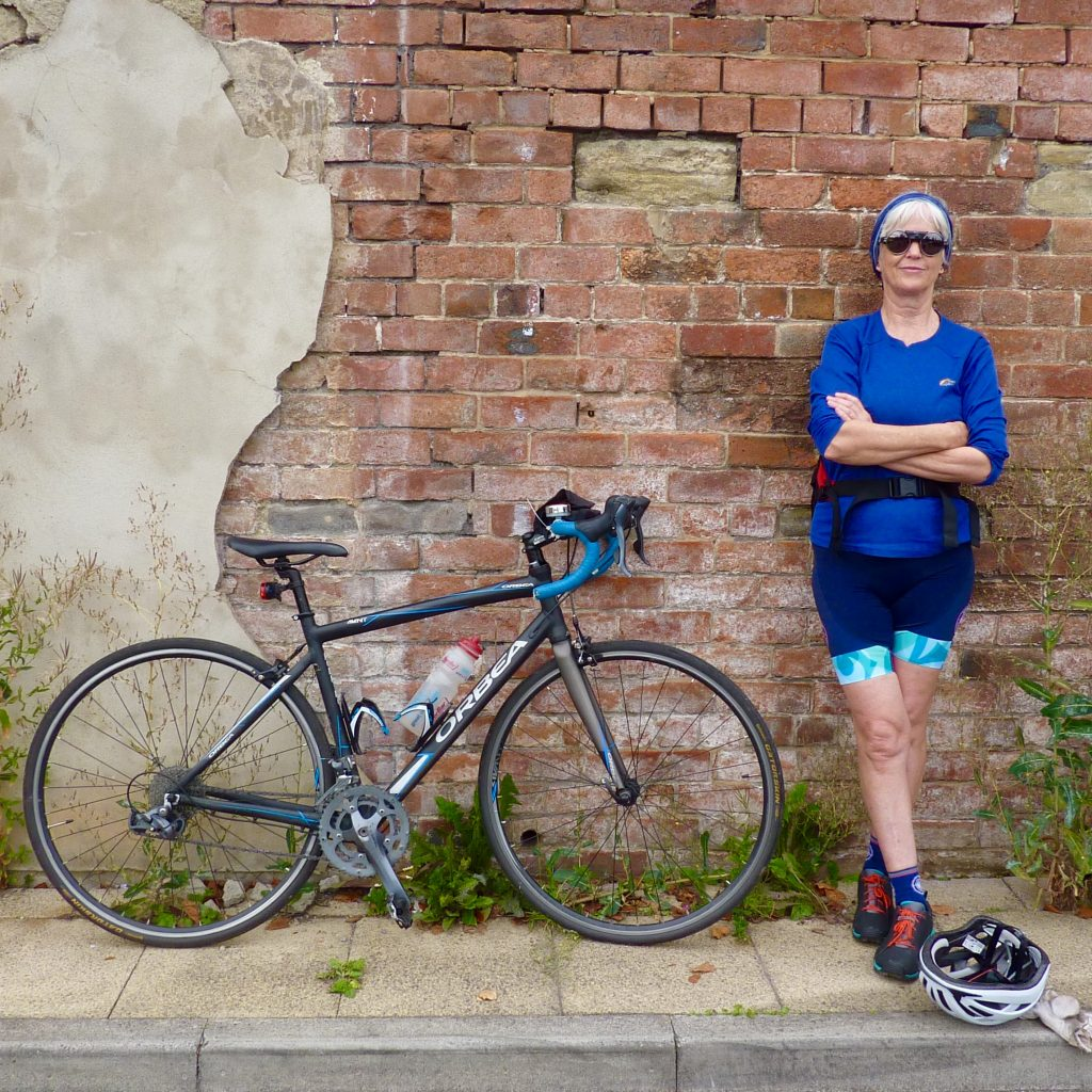 Sheila cycling commuter Yorkshires Premier Cycling Club