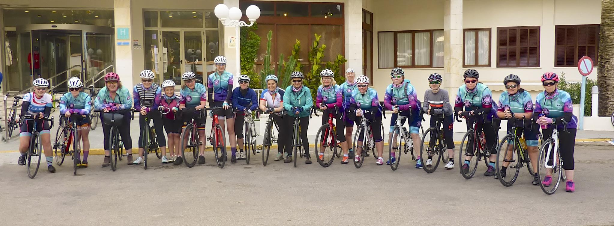 Ladies Cycling Club Queensbury West Yorkshire near Halifax Bradford Huddersfield
