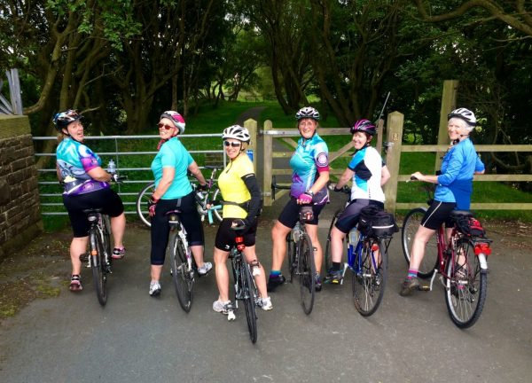 Cycling club Saturday social greenway