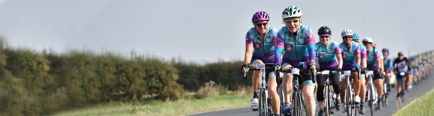 Yorkshire ladies cycling club